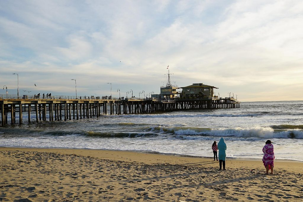 Photo of the Santa Monica Pier