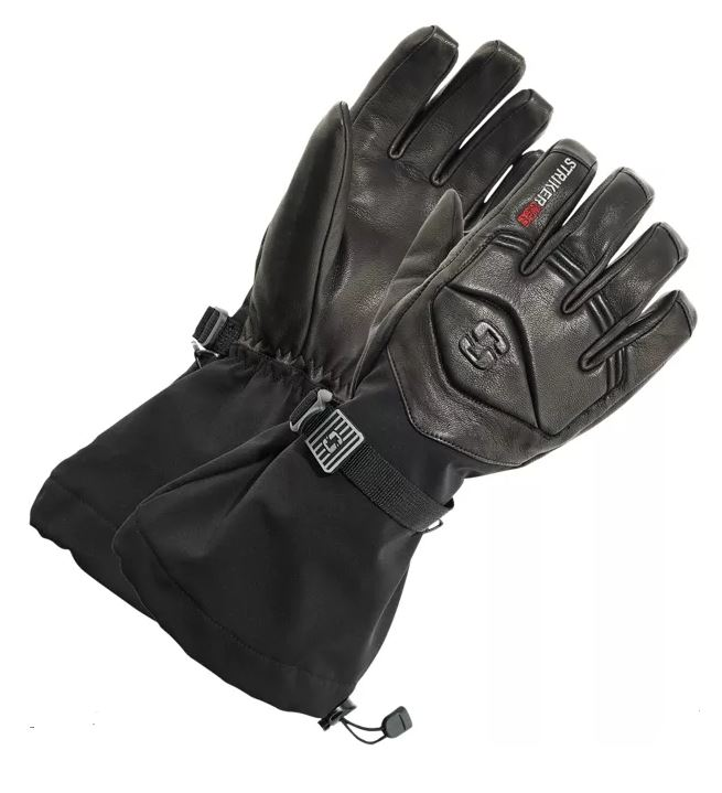 StrikeIce Combat Leather Gloves
