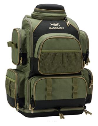 Bassdash Fishing Tackle Backpack